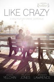 """Like Crazy""…as in, I love you like crazy"